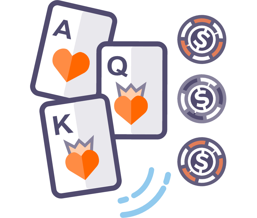 玩现场三张牌扑克
